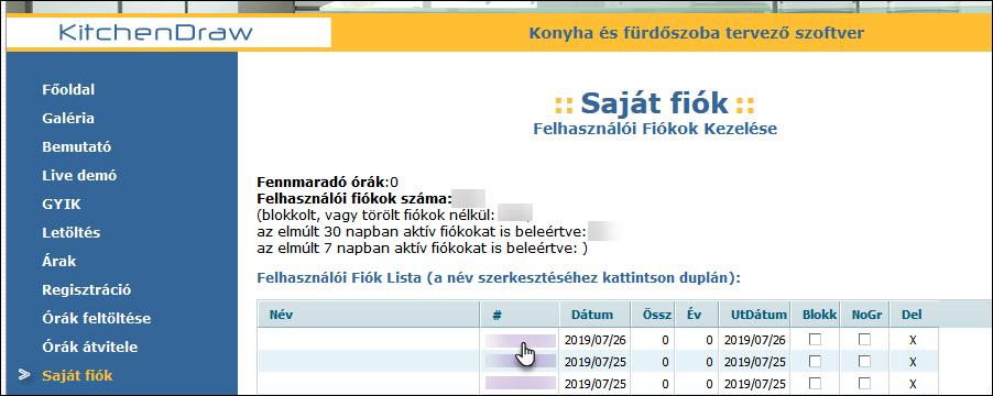 bemutató számlák kereskedőknek)